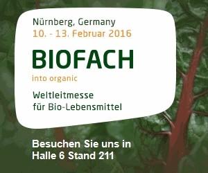 Signatur Biofach 2016